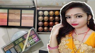 MY  MAKEUP VIDEO #rudra#pooja vlog #17