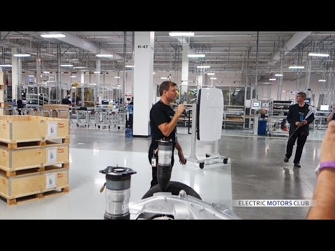 Tesla Gigafactory 1 - Full factory Tour - Gigafactory opening, Nevada