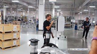 Tesla Gigafactory 1 - Full factory Tour - Gigafactory opening, Nevada thumbnail