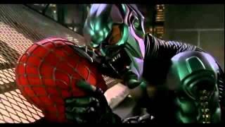 Spider-Man et Le bouffon Vert sur le Toit de la scène.mov