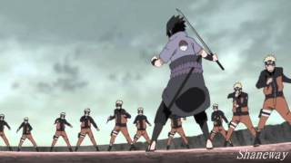 【Naruto AMV】 Naruto vs Sasuke | World Madara 「1080」 - Alive