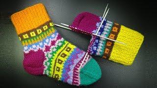 Как вязать классическую пятку Вязание носков