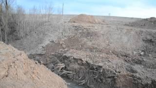 Агрофирма ЮРМА возвела незаконную дамбу на реке
