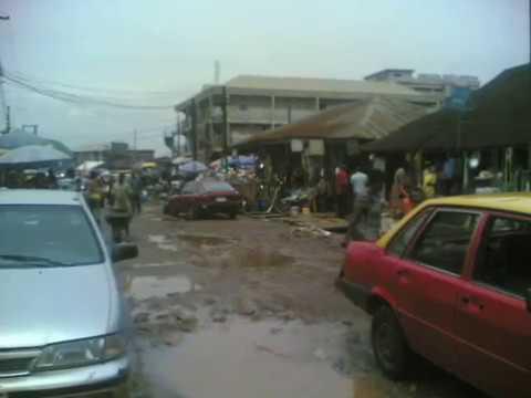 Random Walk (Lagos Street-Street Market, Benin City) Part2