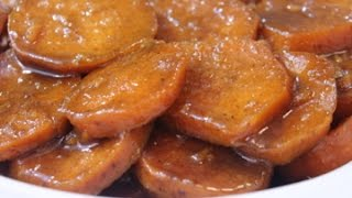 Southern Baked Candied Yams - Soul Food Style - I Heart Recipes