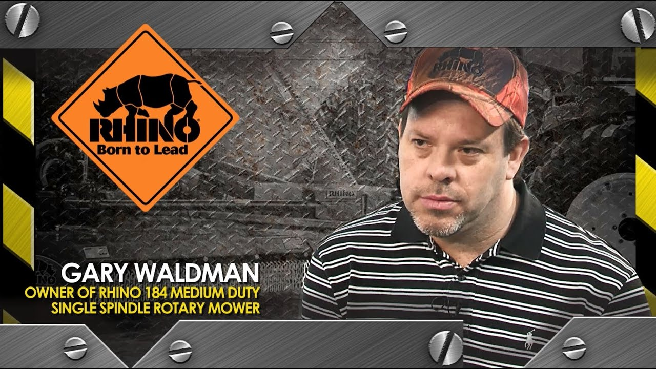 Ag Testimonial Video – Gary Waldman   Rhino Ag – Gibson City, IL   Jones  and Thomas - Decatur, IL