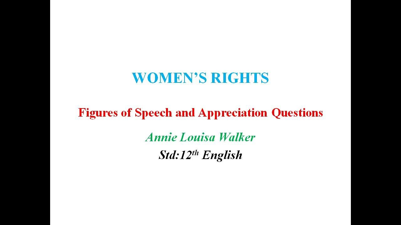 Poems About Womens Rights 7