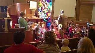Pre school graduation at holston view church