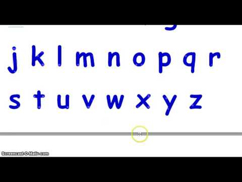 ABC Song   Writing the English Alphabet   Sounds of ABC  Letters ...