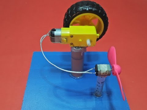 Free Energy Electricity Generator With 2 Motor Hand Project New Technology
