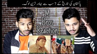 Indians On 7 Real Life Hero's Of Pakistan | Pakistan Ke Bahadur Log - M Bros Reactions
