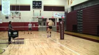 Alex Douglas- Six Foot - Left Handed - Girls Volleyball Hitting - Class of 2015