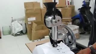 banner button hole making machine (10mm grommet)Bronko