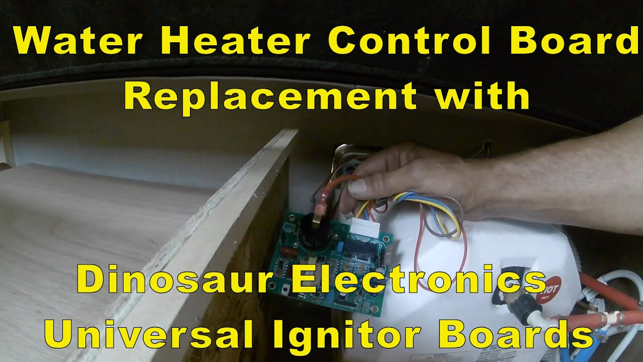 Rv Water Heater Control Board Replacement With A Dinosaur Circuit