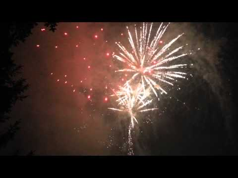 INSANE FIREWORKS  100th anniversary Germansville PA July 11th 2015
