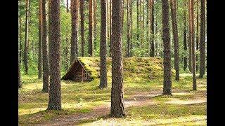 Зимой в лесу - в землянке сделали баню. (но что-то пошло не так) не бушкрафт