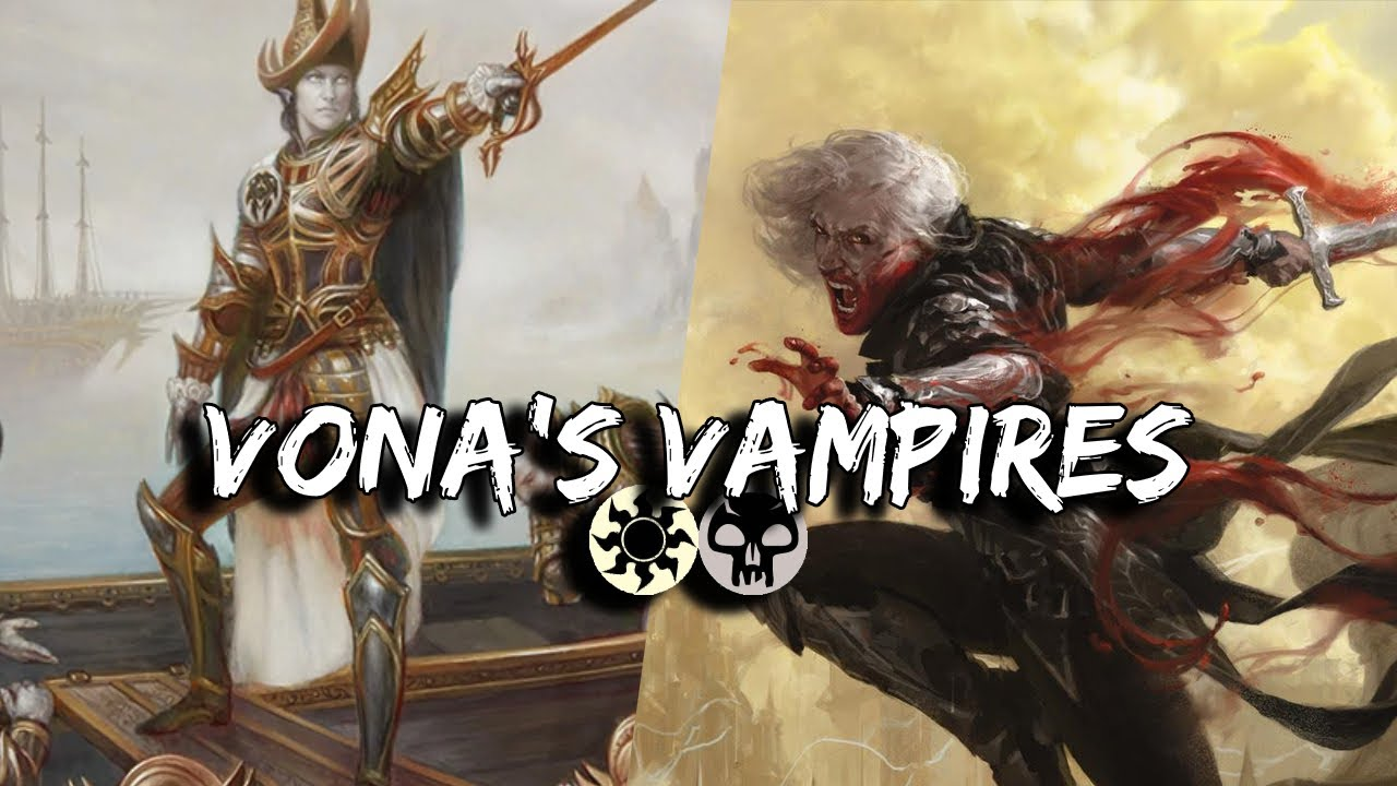 Vona S Vampires Orzhov Vampire Tribal In Historic Mtg Arena Deck Tech And Game Play Youtube Fatal push we all know and love, and cast out can be cycled or cast to remove any problems. youtube