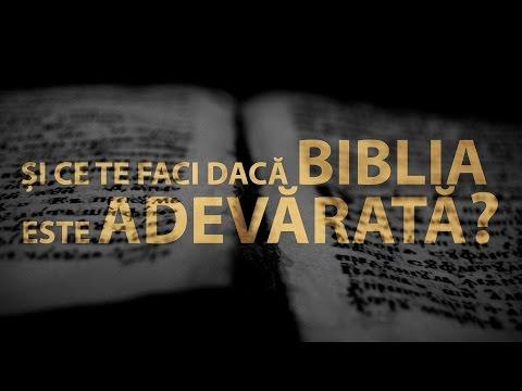 Si ce te faci daca BIBLIA este ADEVARATA?