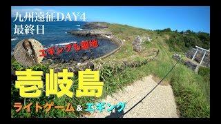 遠征最終日、聖地壱岐で何を思う 【九州遠征DAY4ライトゲーム&エギング編】