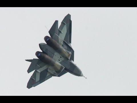 Истребитель пятого поколения Т-50 (ПАК ФА) поступит на вооружение ВКС РФ в 2017 году