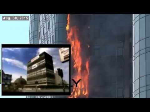8/30/2015 update: World Trade Center 7 vs. Odessa Intense Structure Fire, No Collapse.