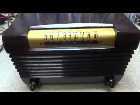Repair Of A 1949 Wards Airline 94BR 1525 A AM Tube Radio