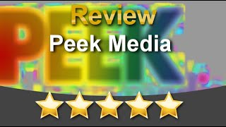 Peek Media Berkeley Incredible 5 Star Review by violet s.