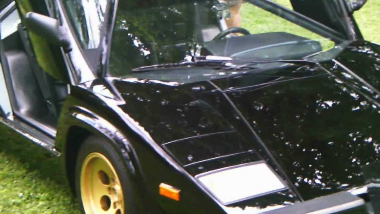 1988 1 2 Lamborghini Countach Quattrovalvole U S Spec Youtube