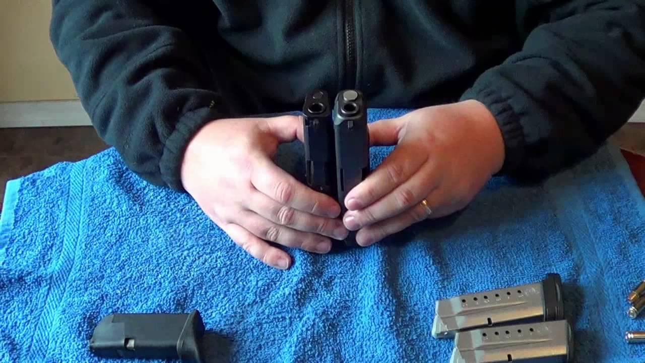 S&W M&P Shield 9mm vs Glock 26: Size & Feature Comparison ...
