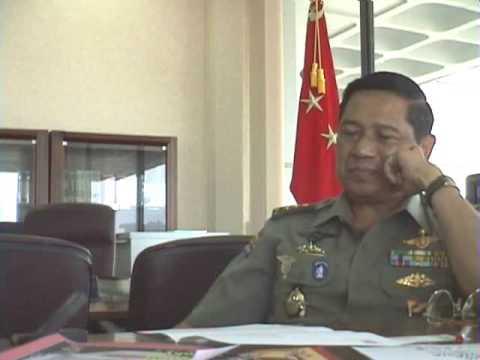10年前のユドヨノ現大統領との会見(12) Interview President RI Susilo Bambang Yudhoyono