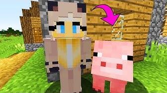 ISY VERWANDELT sich in ein SCHWEIN! - Minecraft [Deutsch/HD]