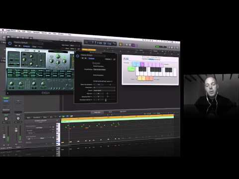 How to play genuinely 'musical' sounding chords with one finger in Logic Pro X with Chordio Script