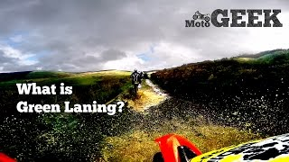 What Is Green Laning? What Is Trail Riding?