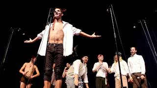 MSU Accafellas - Spongebob Squarepants Theme (Pirate Concert)