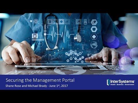 Webinar: Securing the Management Portal