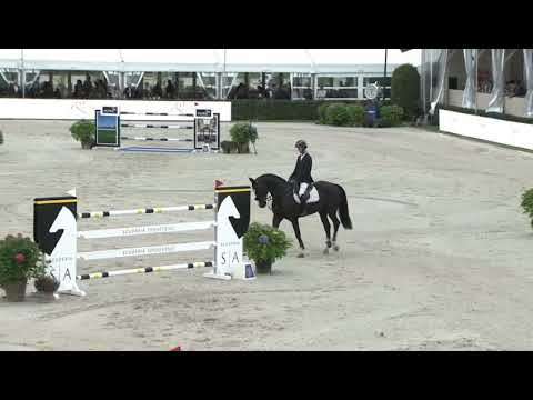 Feromas van beek Z 3th @Sires of the world 1m50 Lanaken (Jump-Off)