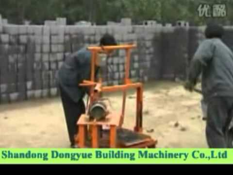 Simple Manual Block Machine Dongyue Brand Machine Bloc
