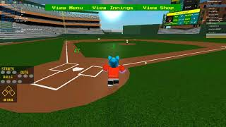 Roblox Baseball! (Hcbb) Also my first video!