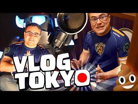 VLOG DE TOKYO!! | Finales de la CRL con Team Queso