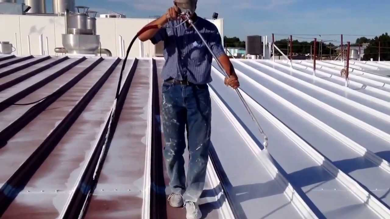 Magic Valley Roof Systems Spraying Conklin Coating