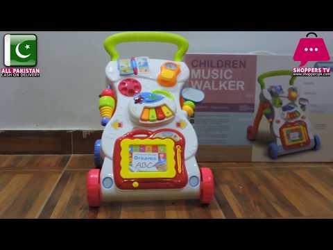 Children Musical Walker - Baby First Walk Musical Baby Walker Review