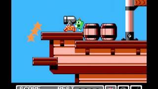 Gimmick! - Gimmick! Walkthrough (NES) - Level 2 - User video
