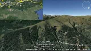 Red Bull X-Alps 2013 Bird Eye - Route Map