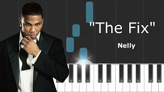 "Nelly - ""The Fix""  ft Jeremih Piano Tutorial - Chords - How To Play - Cover"