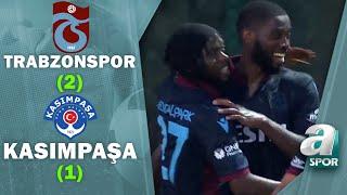 Trabzonspor 2 -1 Kasımpaşa MAÇ ÖZETİ  Hazırlık Maçı  26.07.2021