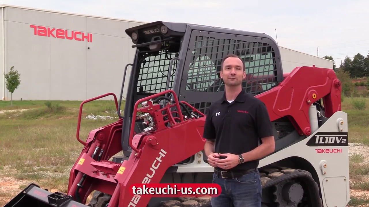 Takeuchi TL10V2 Maintenance - YouTube