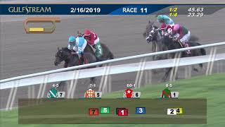 Gulfstream Park February 16, 2019 Race 11
