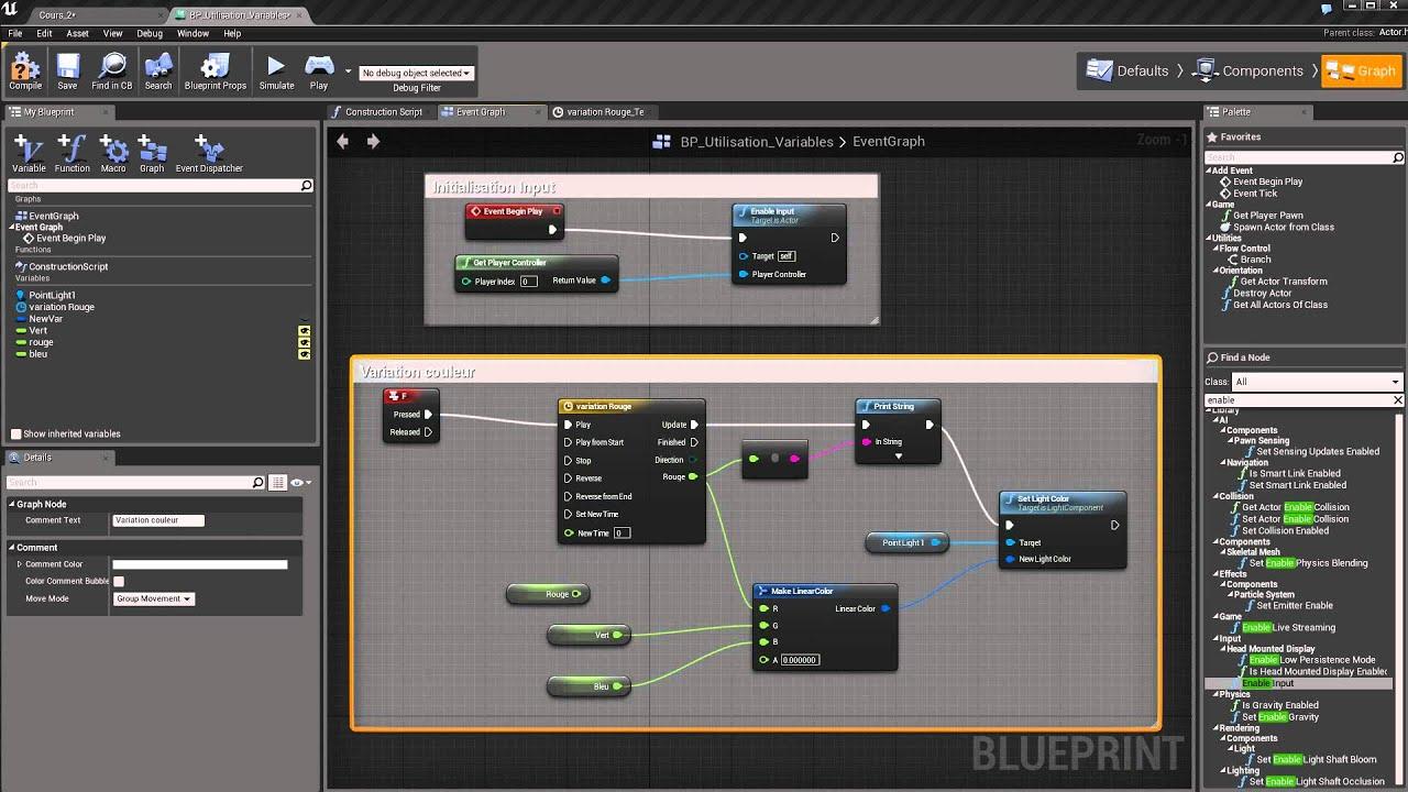 Unreal engine 4 blueprint cours dbutant suite cours 2 youtube unreal engine 4 blueprint cours dbutant suite cours 2 malvernweather Images