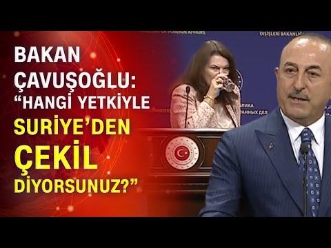 Bakan Çavuşoğlu: 'Neden PKK/YPG'ye destek veriyorsunuz?' İsveçli Bakana çok sert PKK tepkisi!
