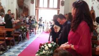 vieni dal libano mia sposa- Antonino e Shara Conte- 20-08-2012 Licata